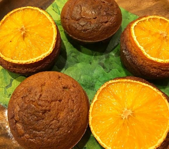 オレンジポピーシードマフィン