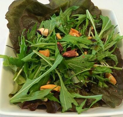 2-1シンプルグリーンサラダ