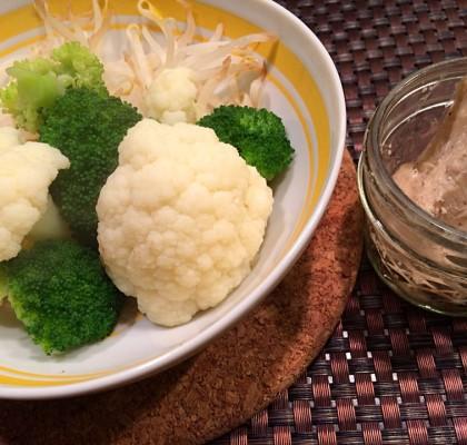 2-6蒸し野菜ココバター添え