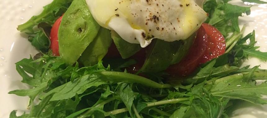 [4-2] サラダ仕立てエッグベネディクト