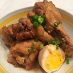 [5-2] 手羽元と卵のお酢煮込み