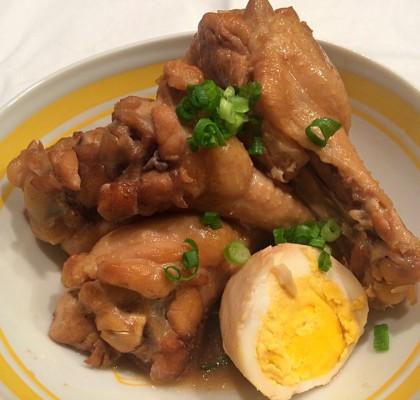5-2手羽元と卵のお酢煮込み