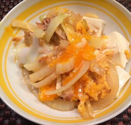 8-1豆腐親子丼