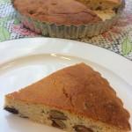 ラムレーズンとナッツのリコッタチーズケーキ
