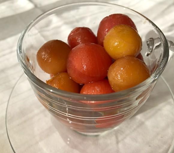 プチトマトココネクタスマリネ