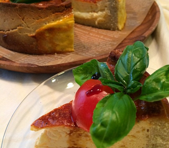 トマトとチーズのキッシュ